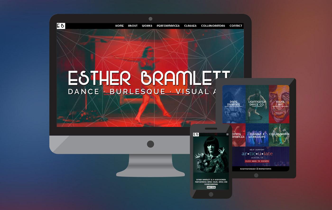 EB Dance WordPress Website