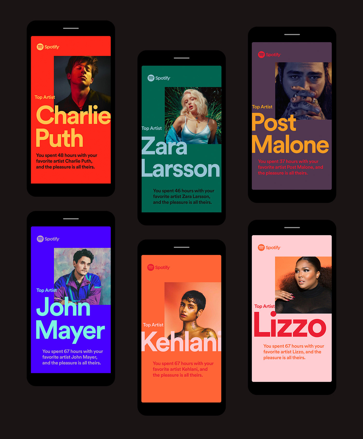 Color Inspiration: Spotify 2018 Wrapped