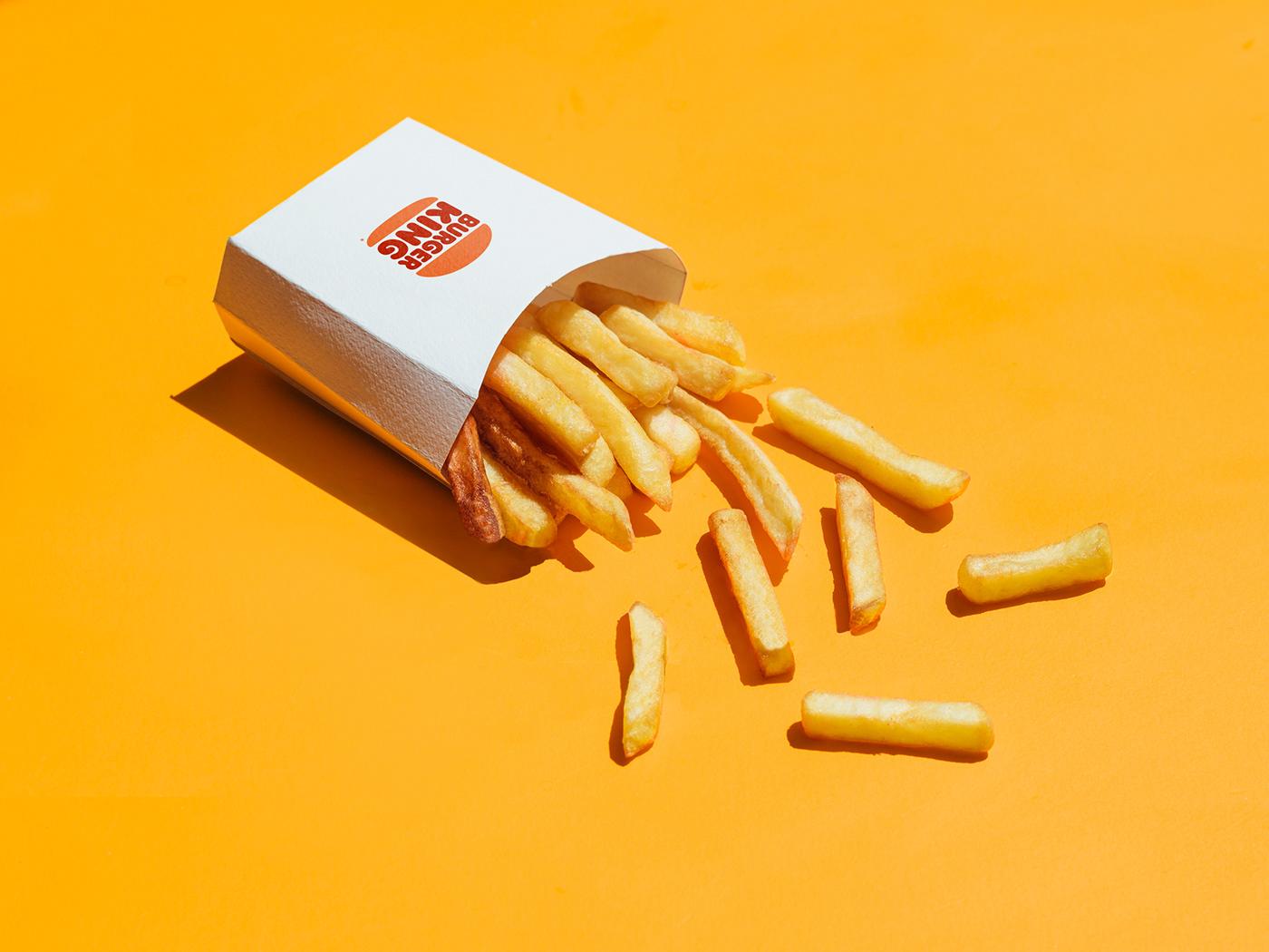 Advertising  burgerking Fries