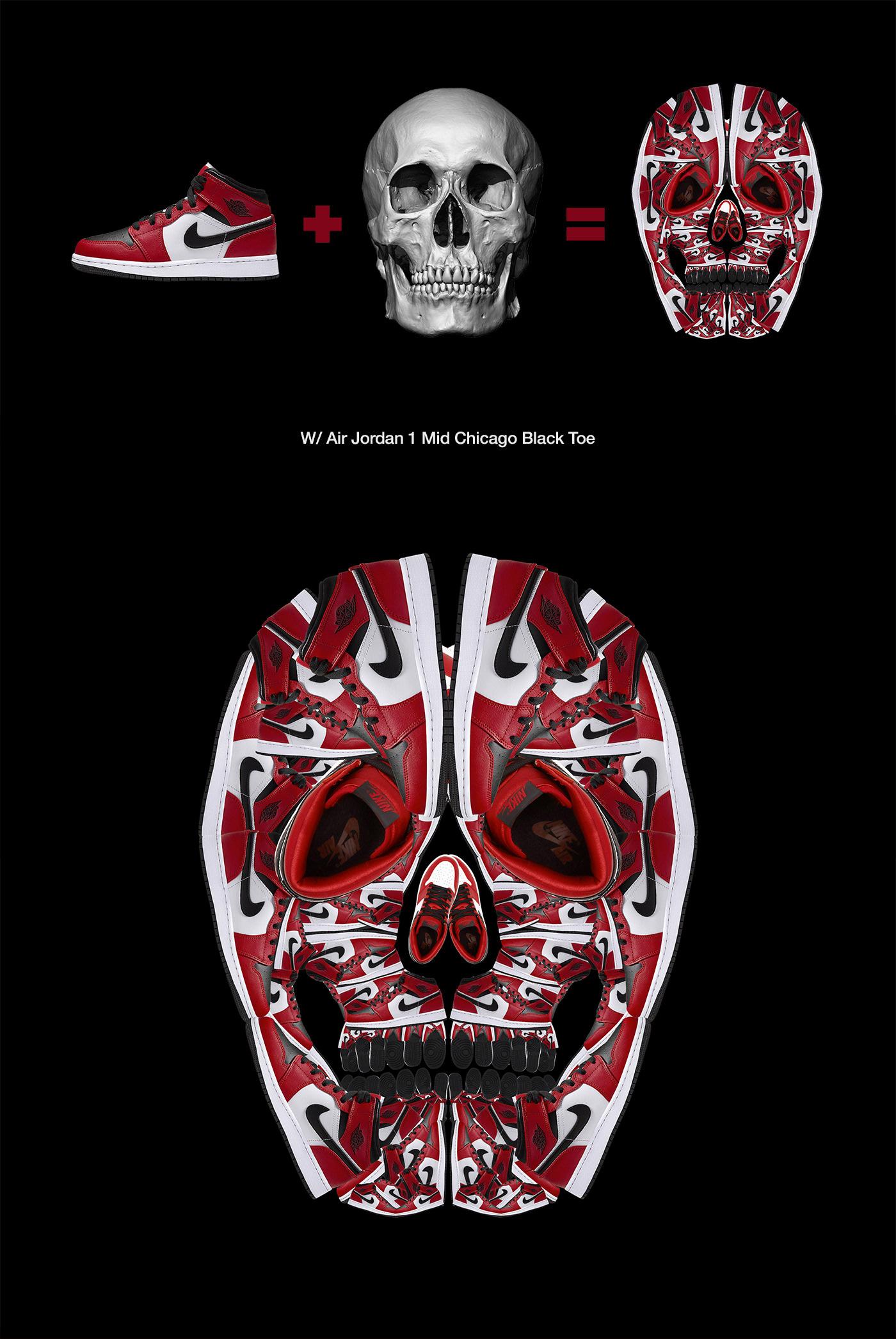 Image may contain: poster, cartoon and skull