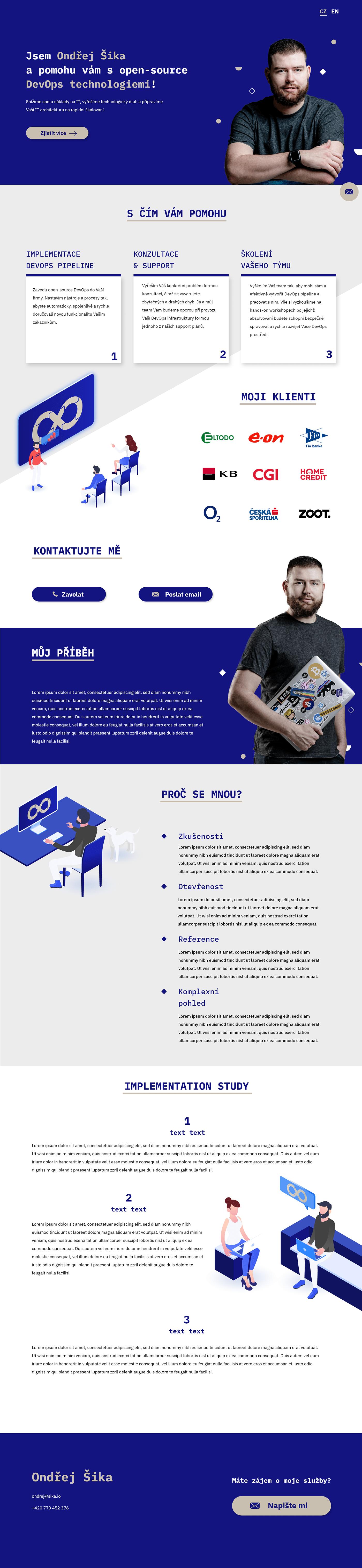 devops graphic design  High Fidelity ILLUSTRATION  isometr UI&UX   Web Design