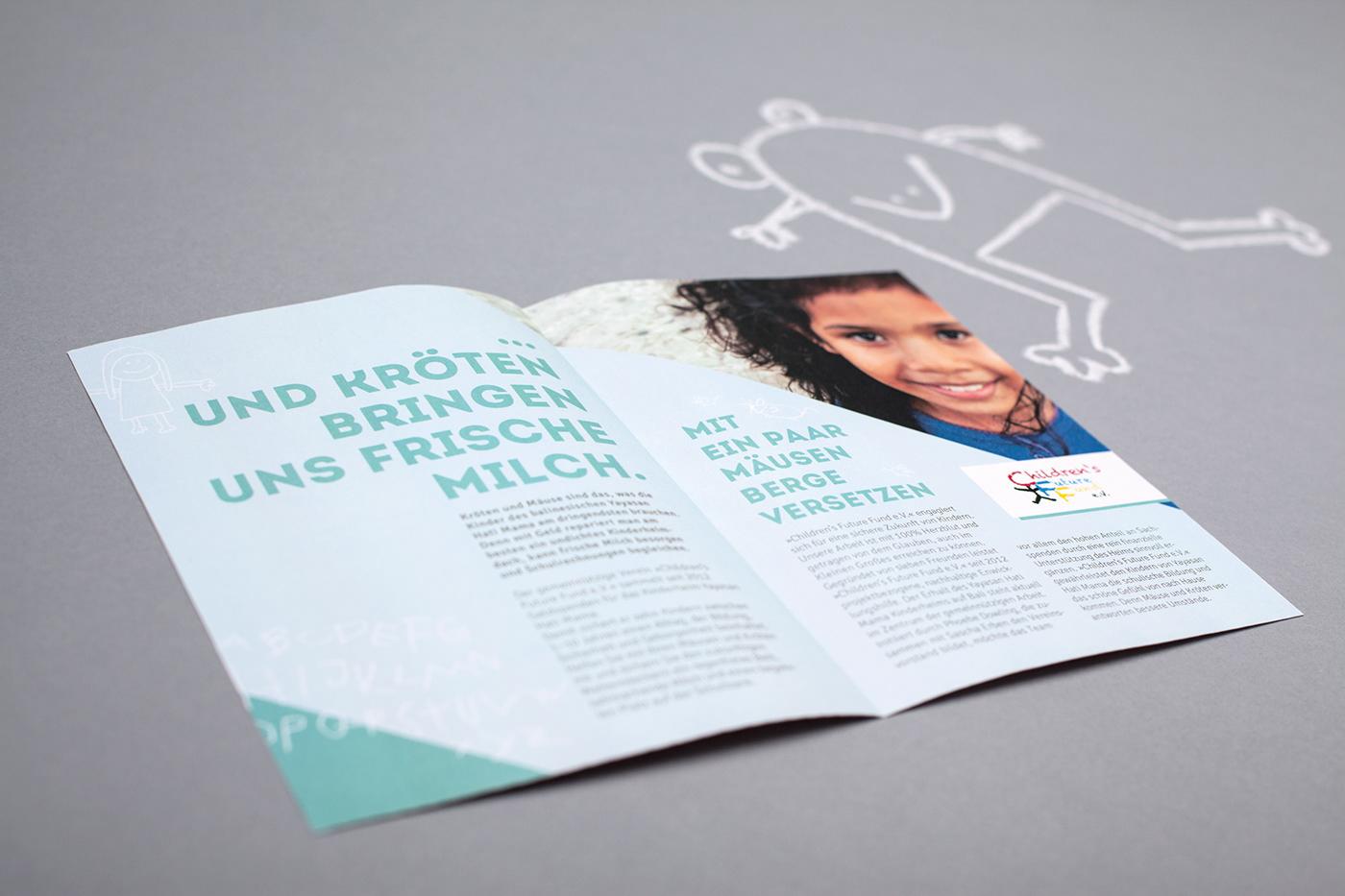 Grafik Design ILLUSTRATION  Kampagne pro bono text