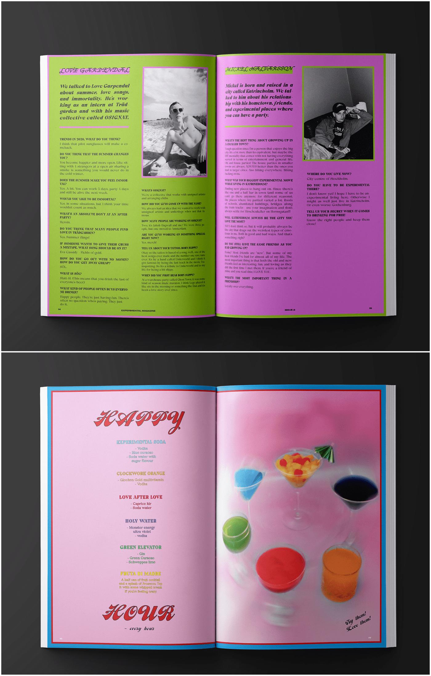 ArtDirector copywriting  design editorial graphics magazine Photography  typography   Zine