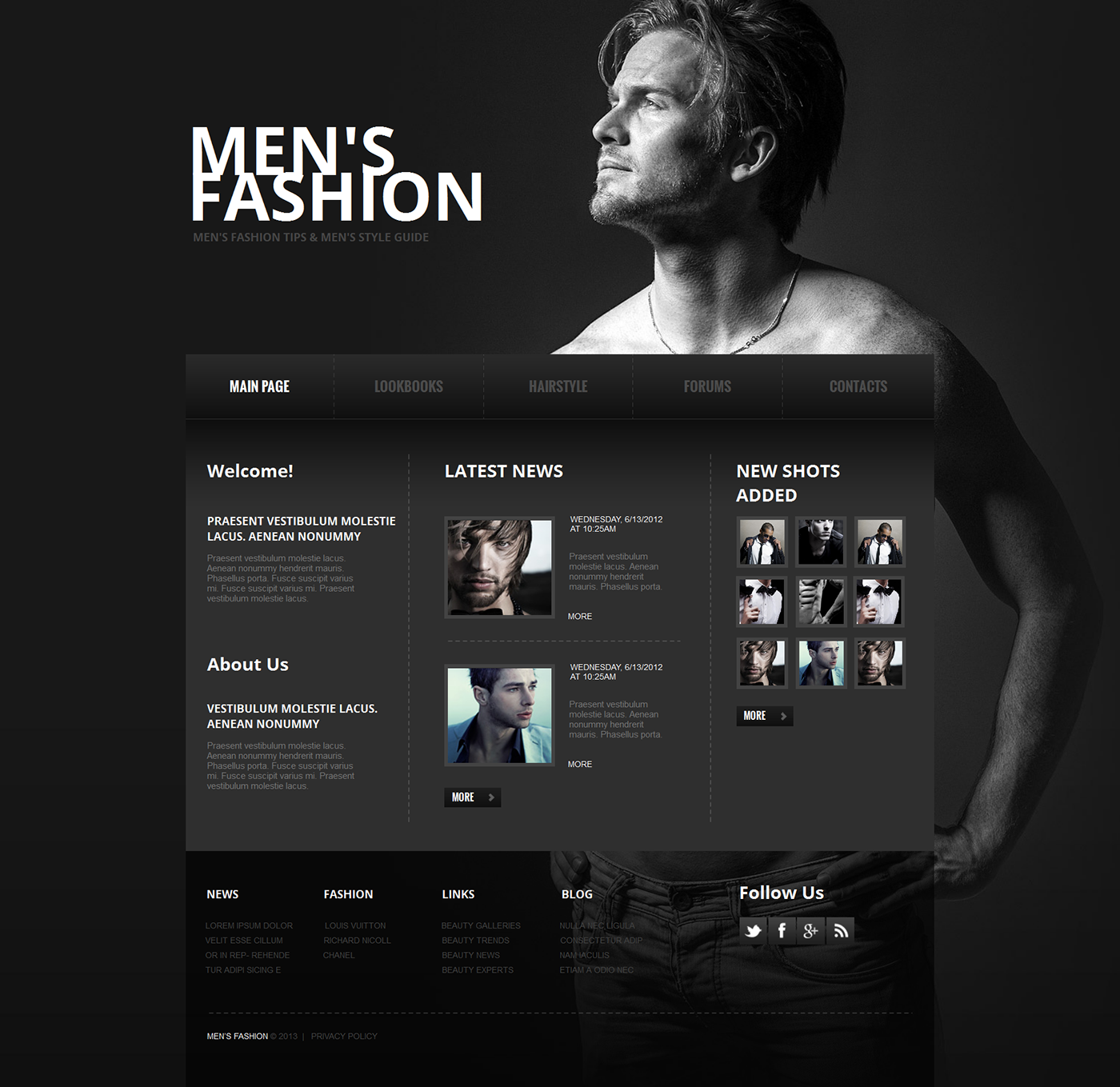 FASHION & MODELS TEMPLATES on Behance