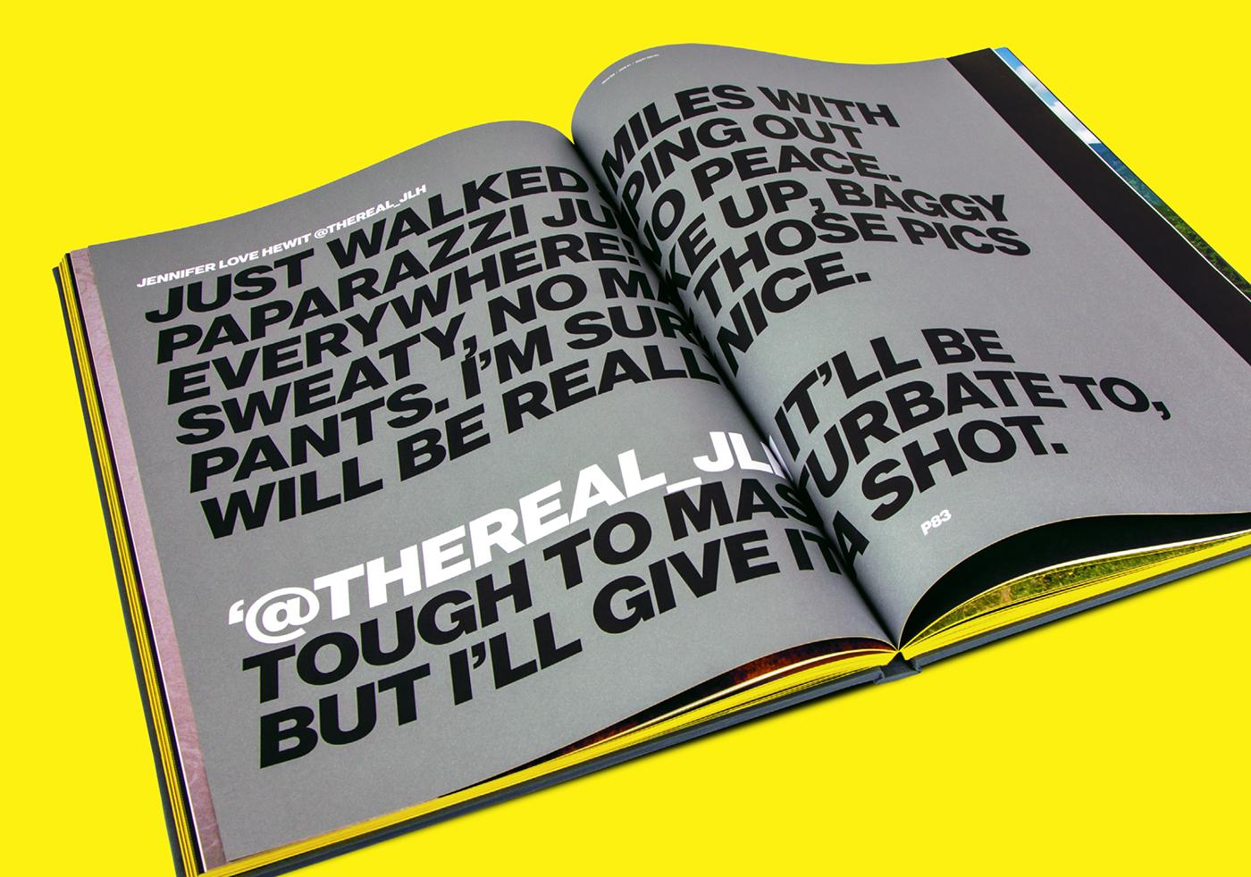 book graphic design award winning Cannes lions bible denmark Scandinavia book design Layout grid Street fresh big large