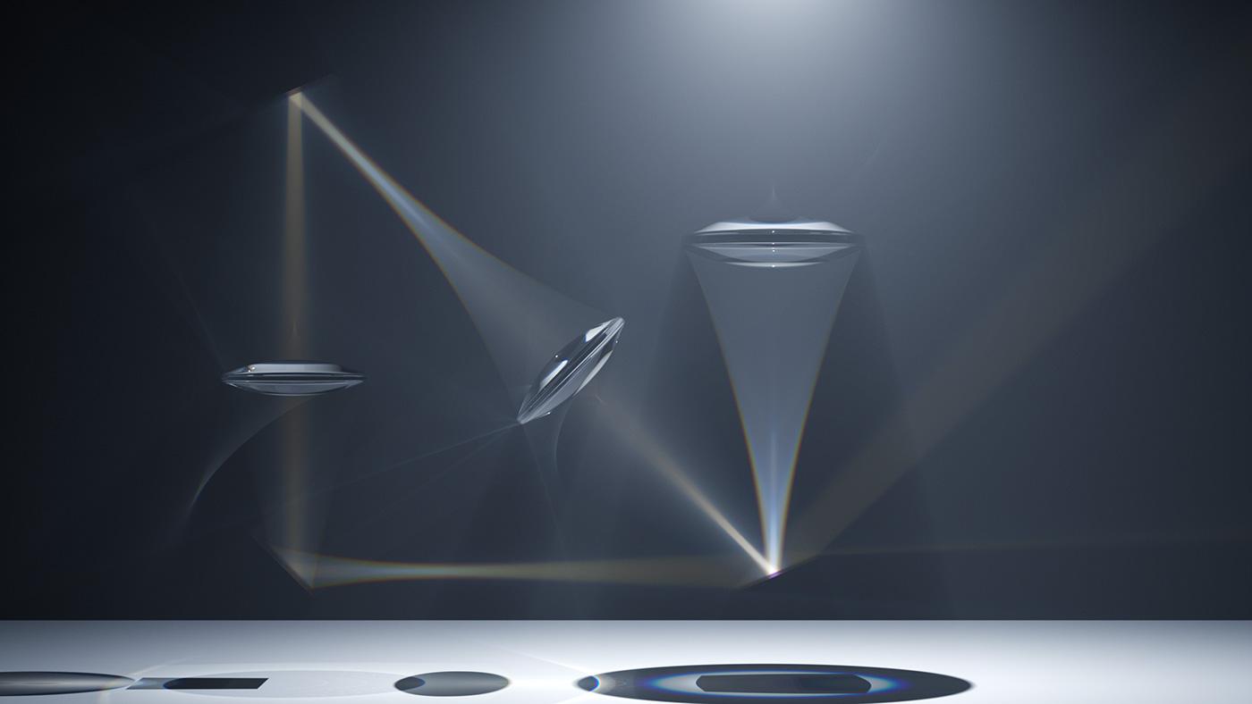 lenses Optical Physics light refraction Silverwing indigo render cinema 4d Metropolis Light Transport