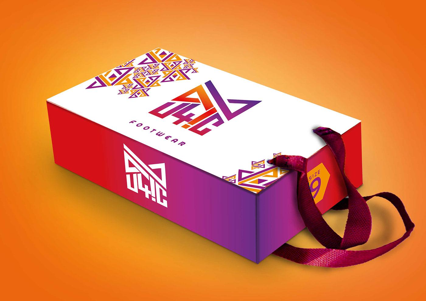 精緻的24個鞋盒包裝設計欣賞
