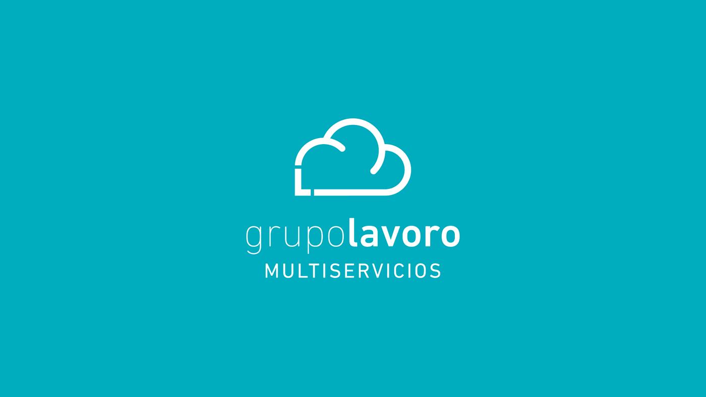 #lavoro #MULTISERVICIOS #Branding #corporativo  #Logo #Jerez #cristiangarcia