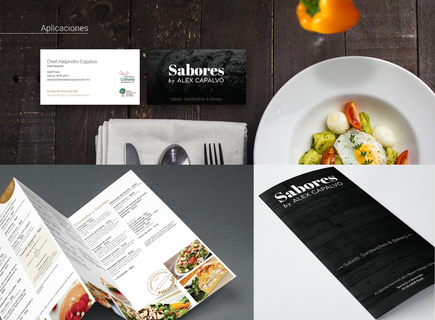 branding  restaurant cafe coffee shop gourmet mexico Web Design  business card marketing