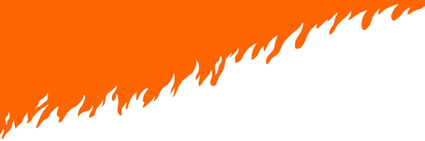 screenprint poster PopCulture england affiche graphic orange dark fire