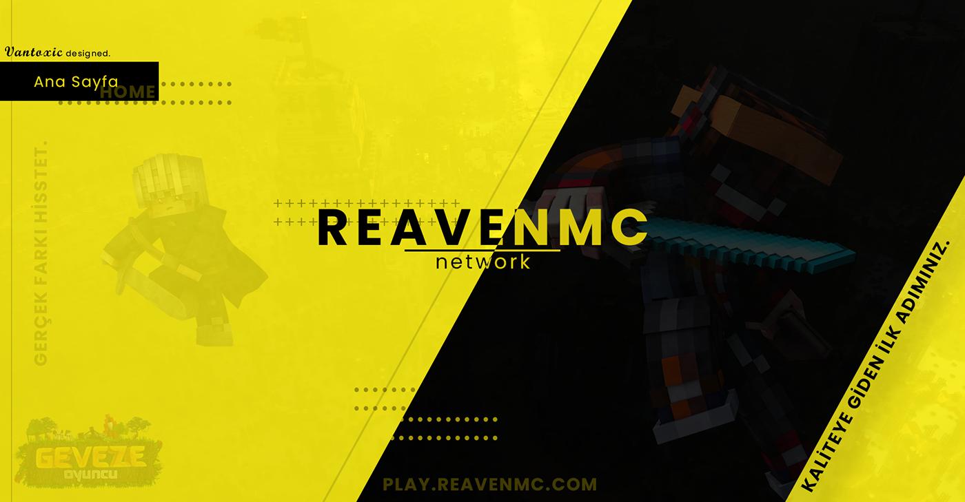 black & yellow konu konu tasarımı Kreof minecraft tasarımı thread thread design Vantoxic