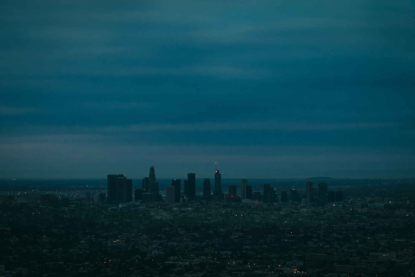 Photograph of Los Angeles Skyline