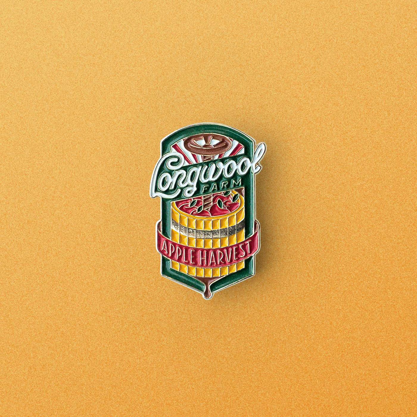 ILLUSTRATION  lettering enamel pin Enamel Pin lapel