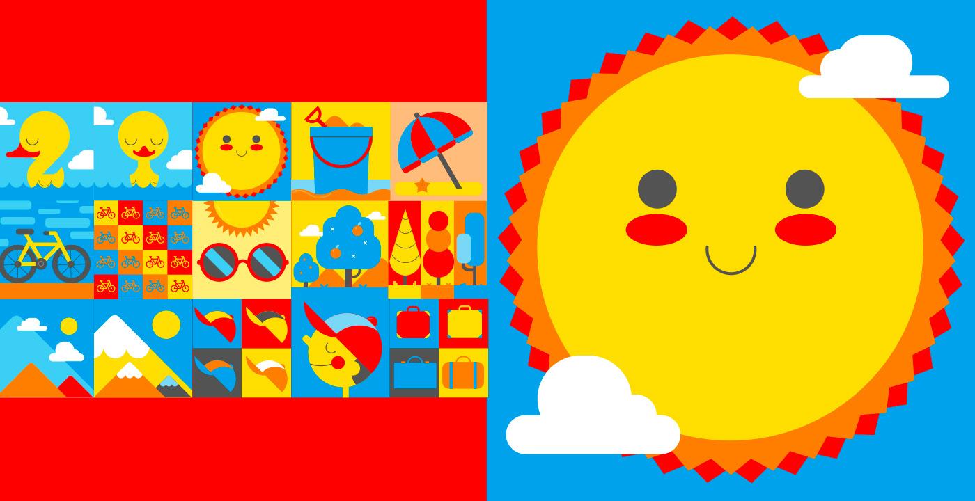 2D animation  branding  design disney graphics junior lets play motion summer