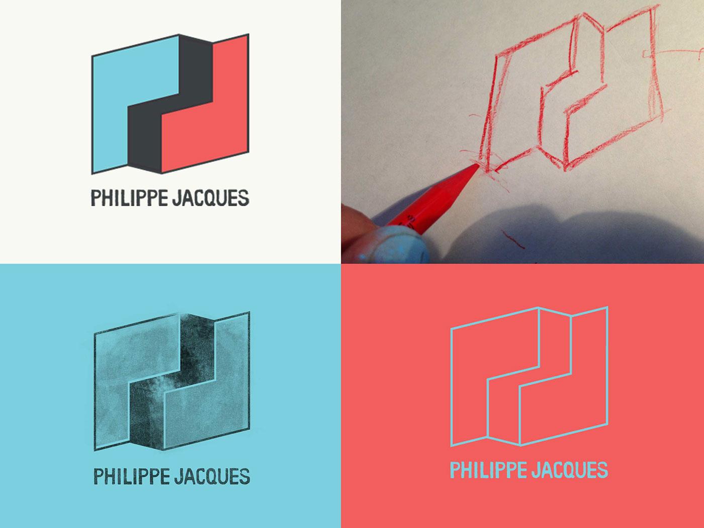 Philippe Jacques identity logo