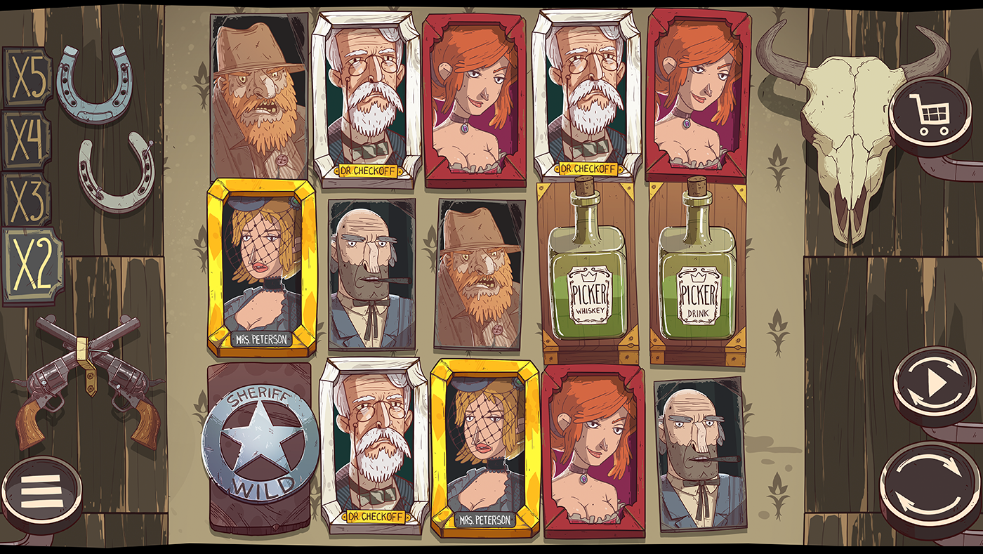 gameart animation  characters logo slot indieDev gamedev gambling Spine2d Slot Design