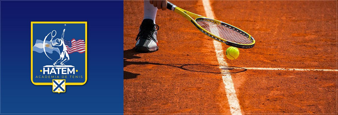 branding  diseño hatem logo marca marketing digital Rebrand rediseño Socialmedia tenis