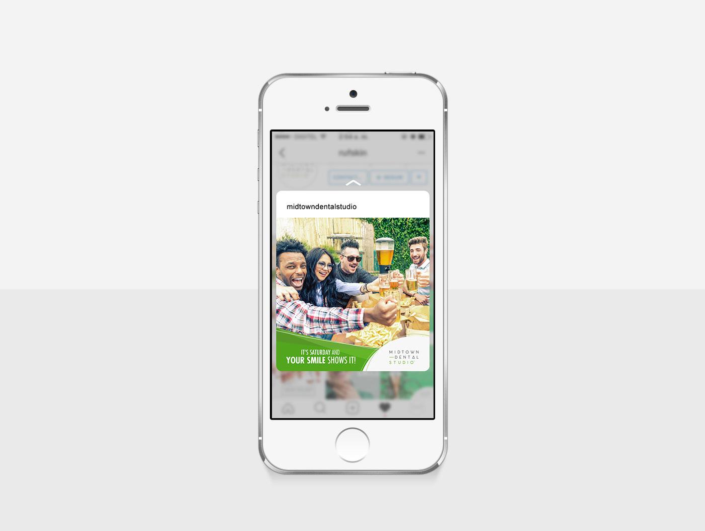 instagram social media redes sociales Dental Studio