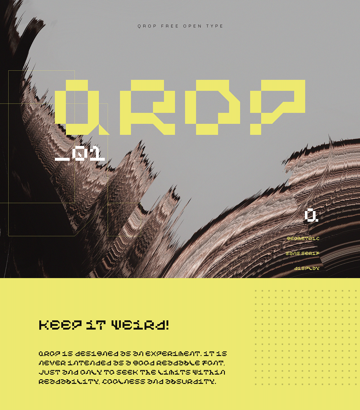 black crazy font Digital Font font fontdesign free type open type tru type yellow
