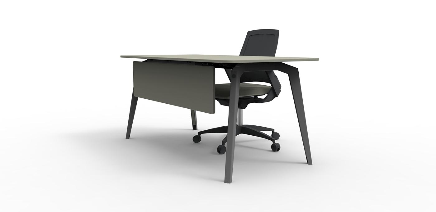 精緻的17張辦公桌設計欣賞