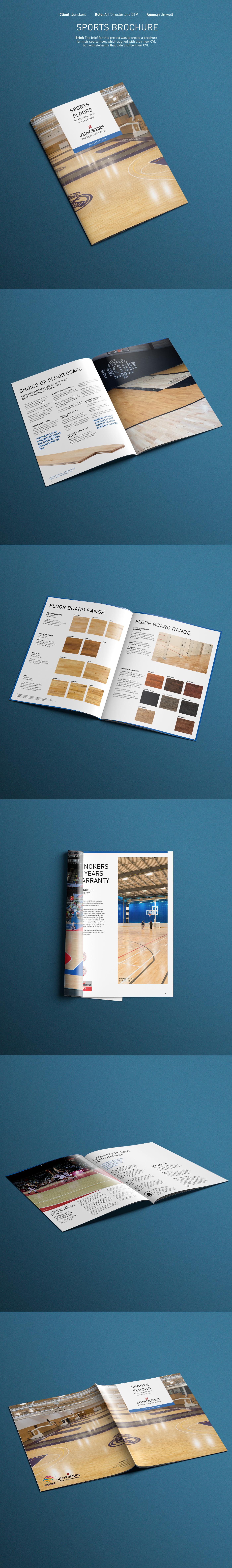 Sports Brochure brochure sport floors wood woodcare Floors brochure Junckers