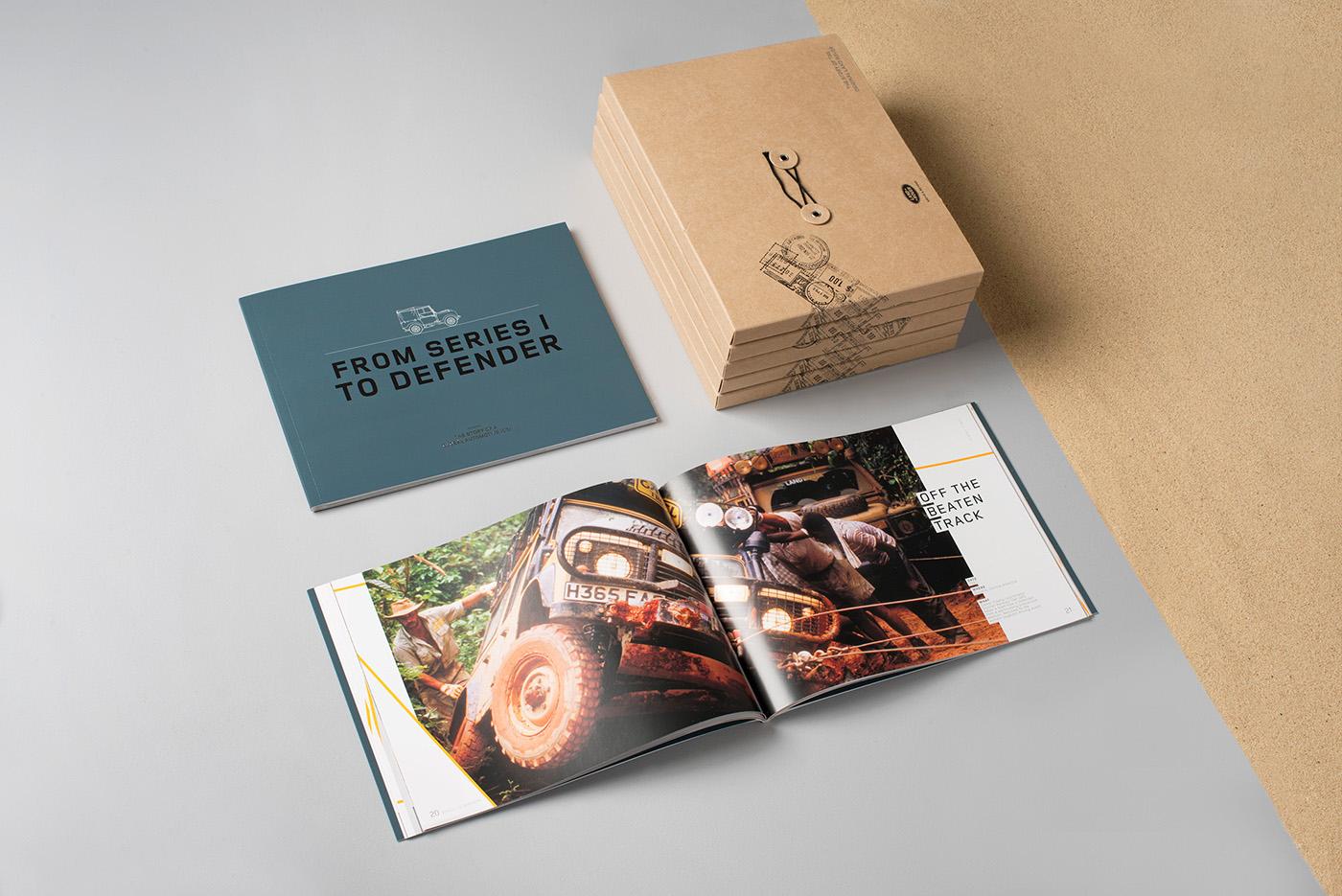 Land Rover book print pop up automotive   car map Pack