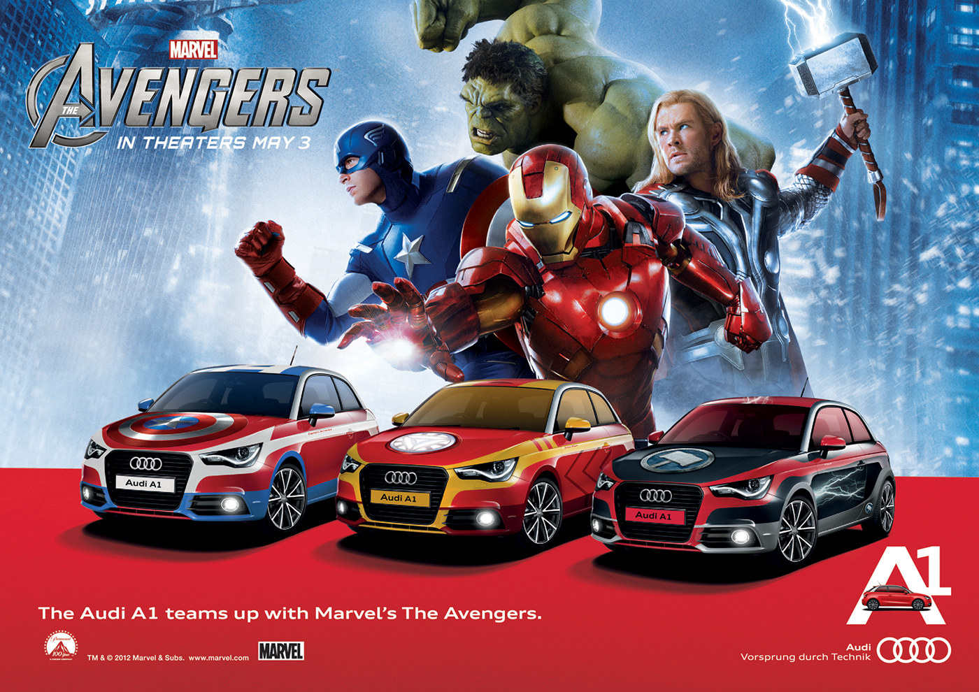Audi A1 Avengers Activation Stunt On Behance