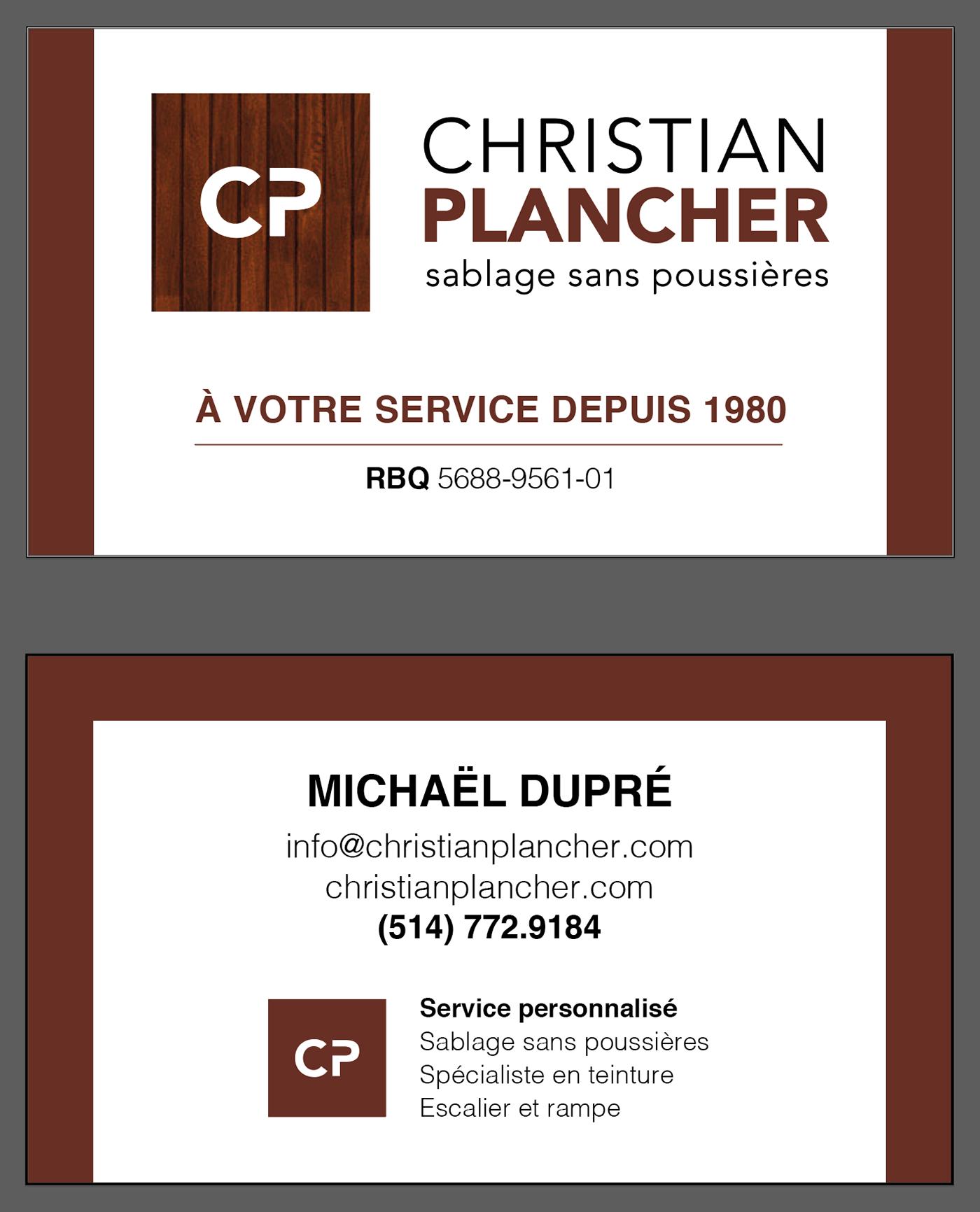 Christian Plancher - Rebranding + Web Site