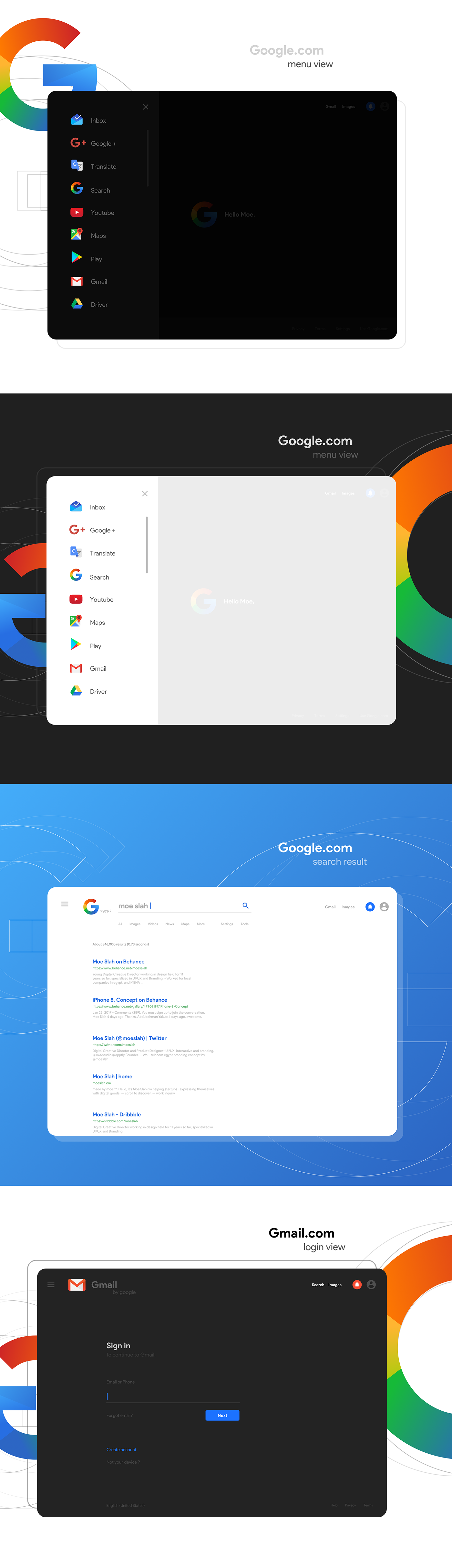 ... Ryan Moe Home Design Reviews Google New Look U2014 Ui And Logo On  Behance ...