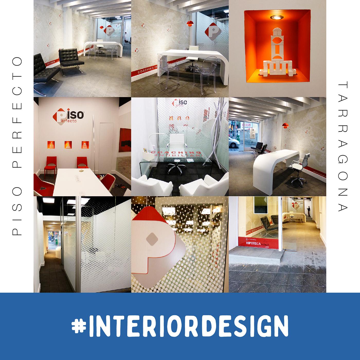 Restyling de logo + interiorismo oficina en Tarragona