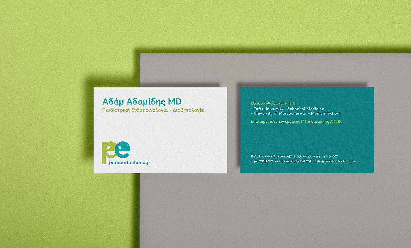Animated Logo branding  childish diabetes Endocrinology Health medicine Pediatric Pediatrics pedology
