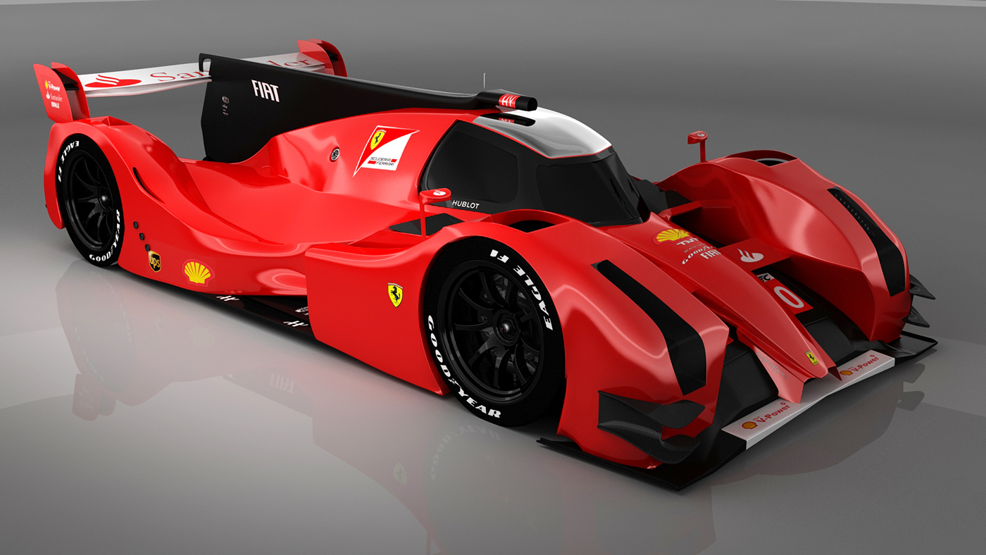 Ferrari F 330 Lmp1 Concept On Behance