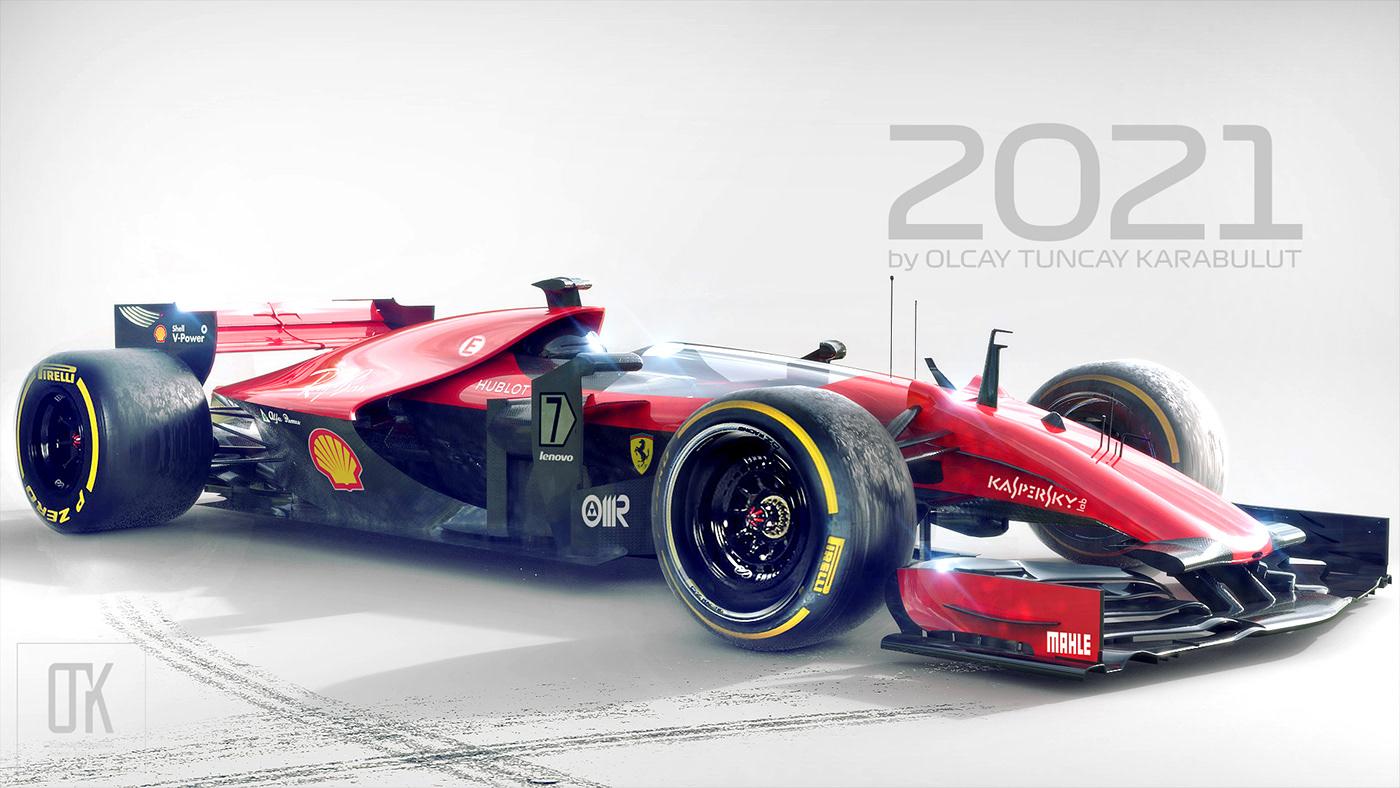 ferrari 2021 concept on behance