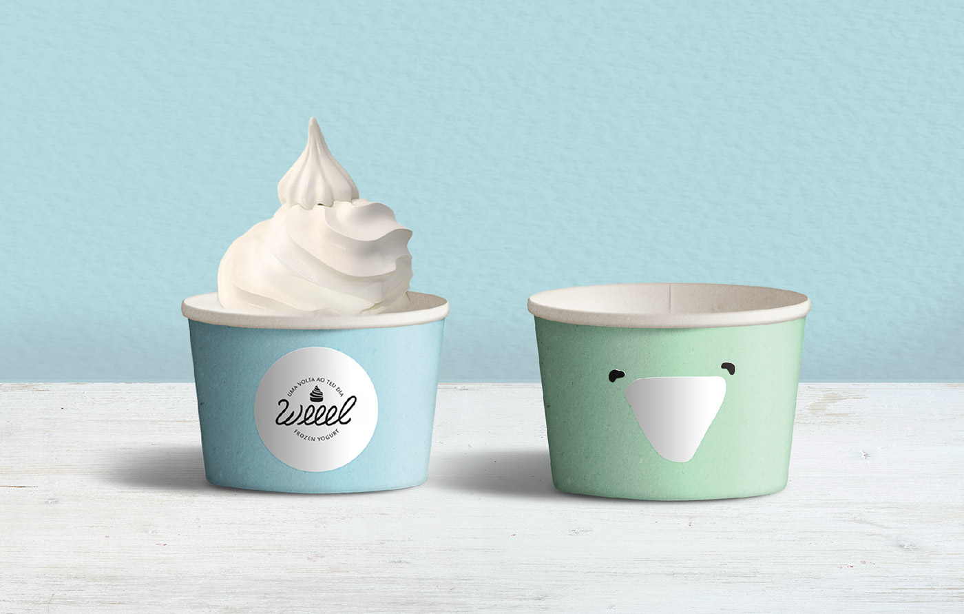 happy branding  package design colors healthy product