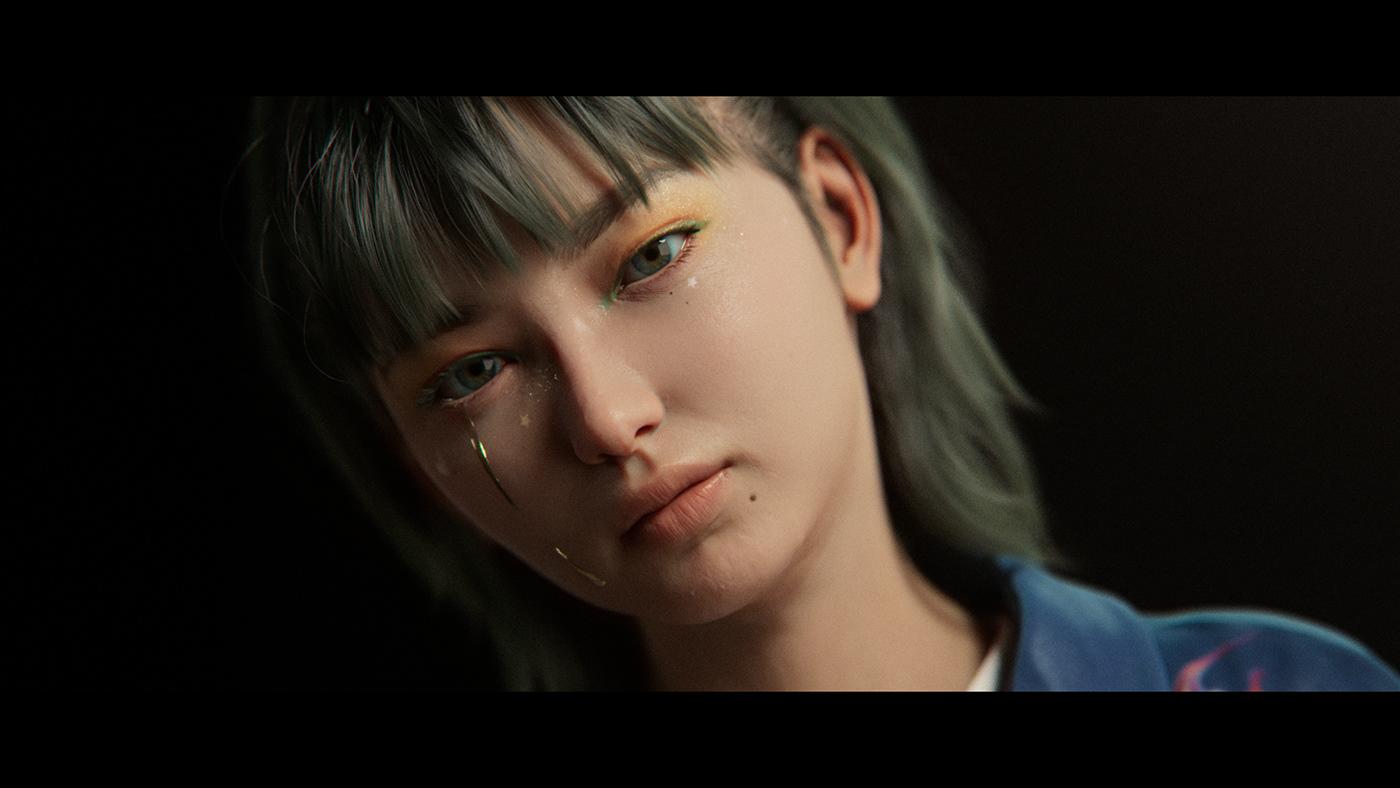 3D music video vfx virtual human