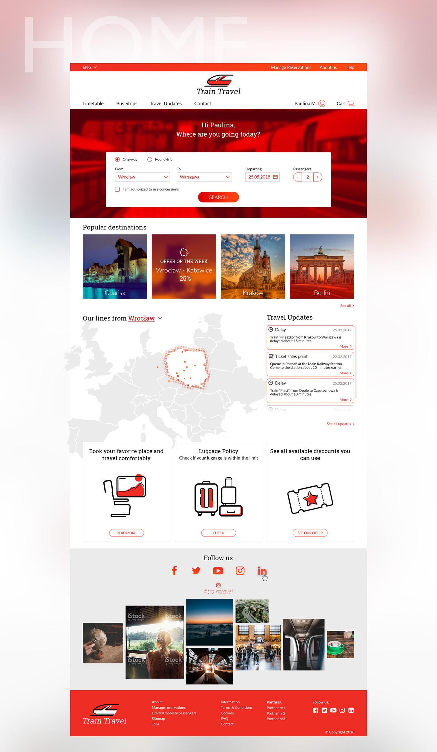 UI ux Webdesign concept desktop user interface Interface visual design