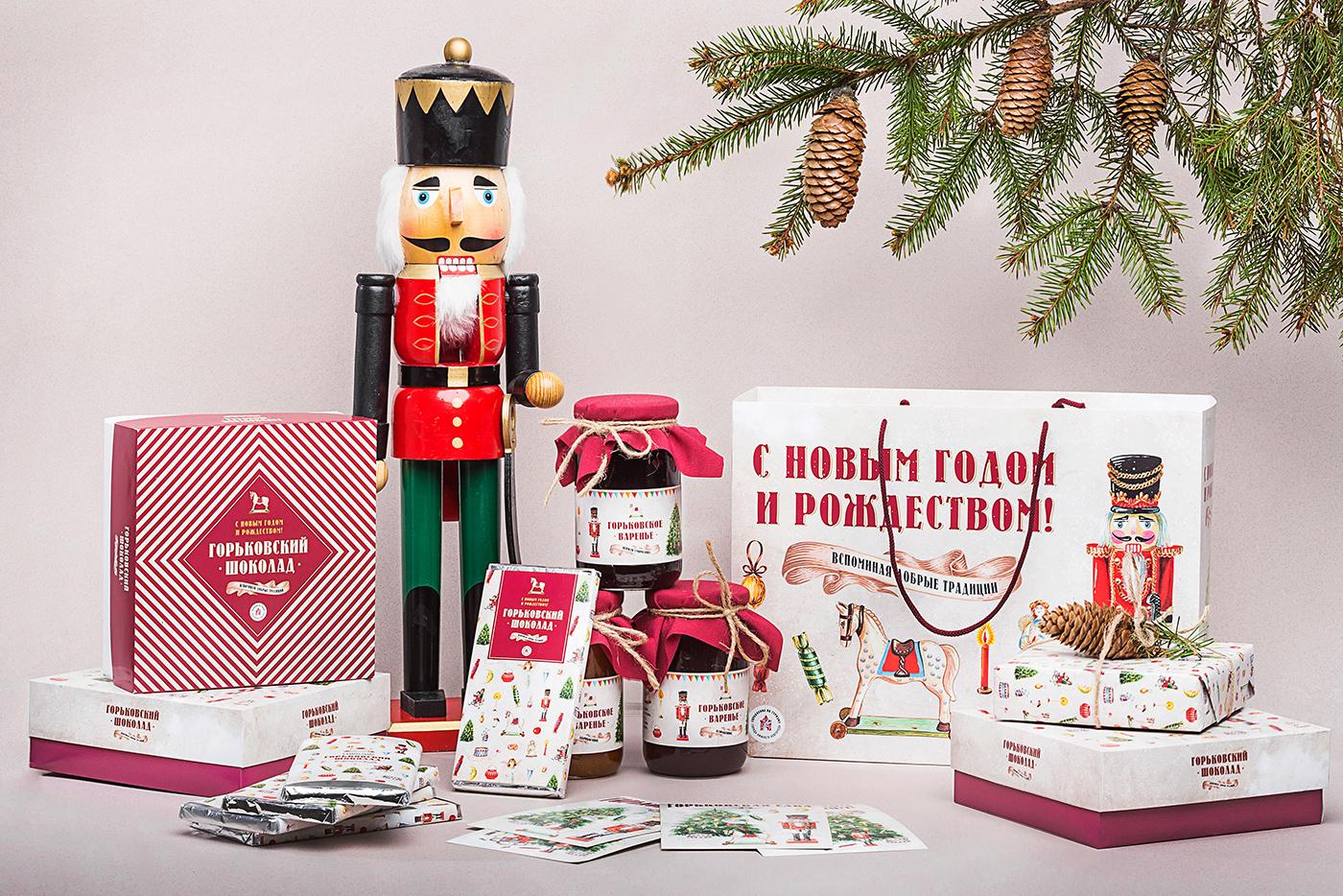 高品質的24款聖誕禮物包裝欣賞