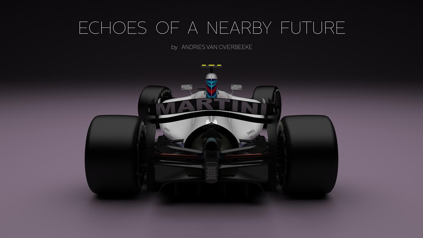 Williams Martini Formula 1 Concept 2017 on Behance