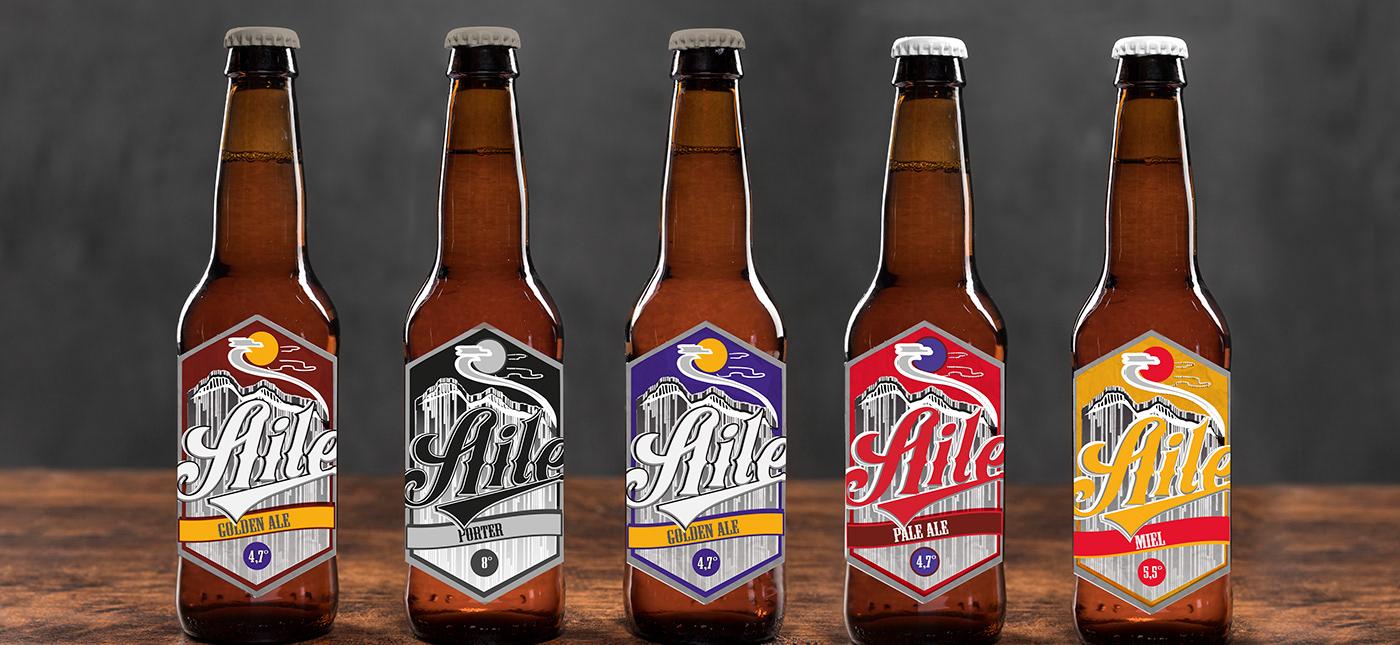 cerveza Diseño de etiquetas diseño de productos diseño gráfico identidad gráfica