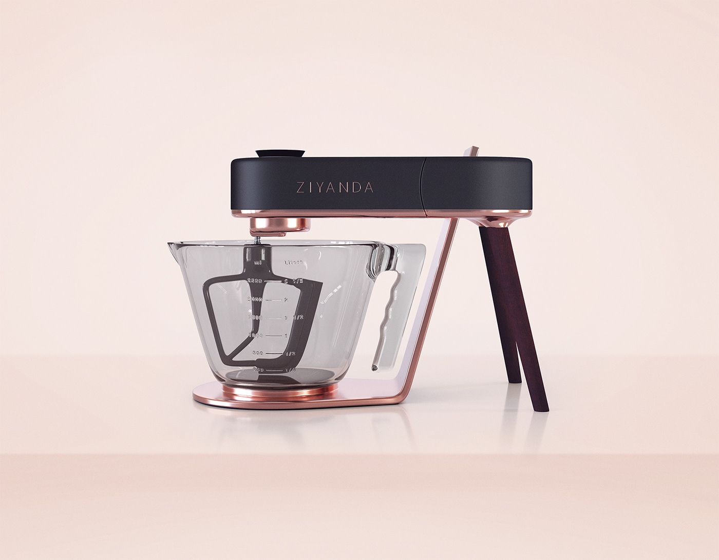 Ziyanda Stand Mixer on Behance