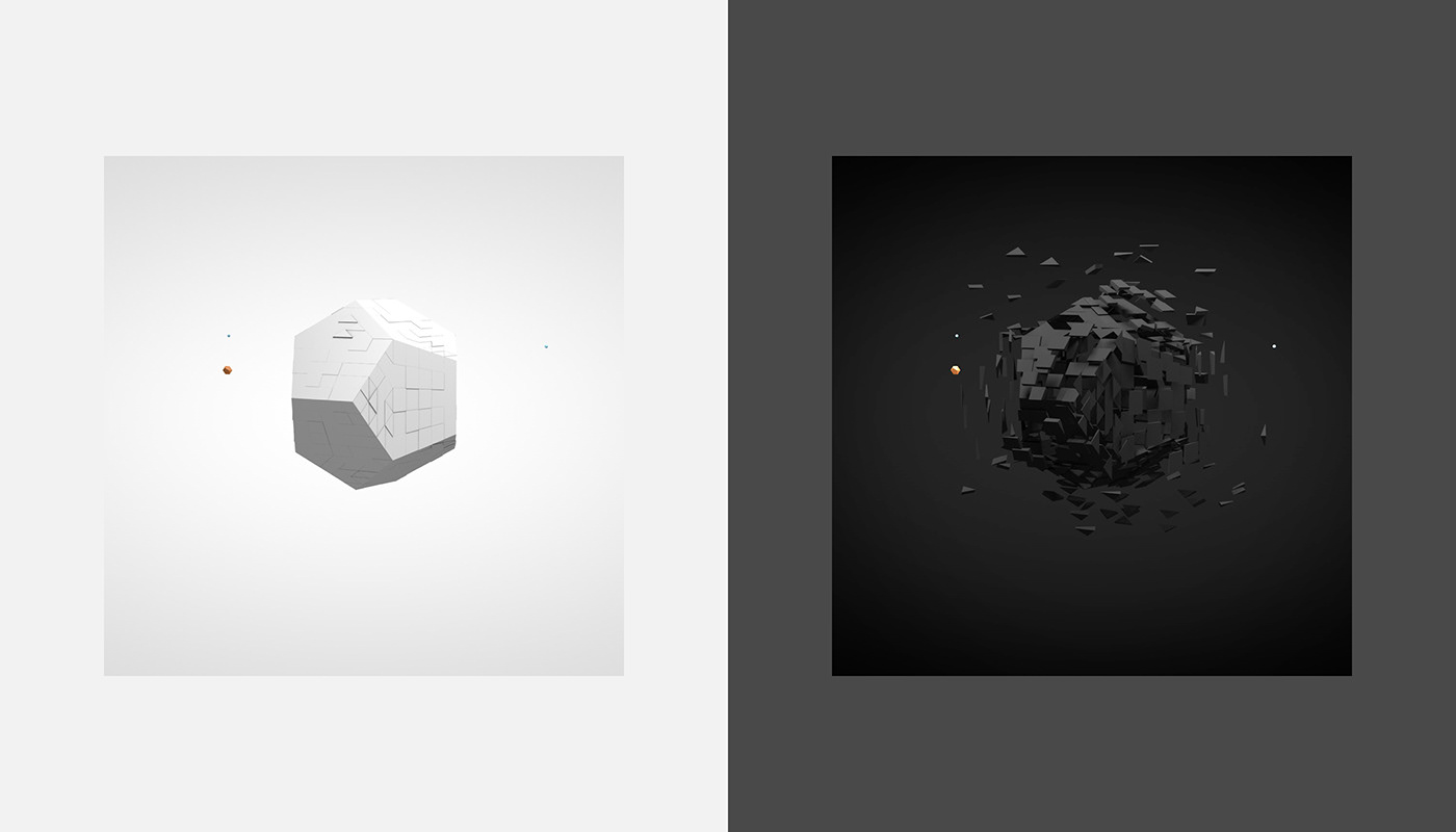 interaction design 3D webgl game Collaboration multiplayer Isometric motion ILLUSTRATION