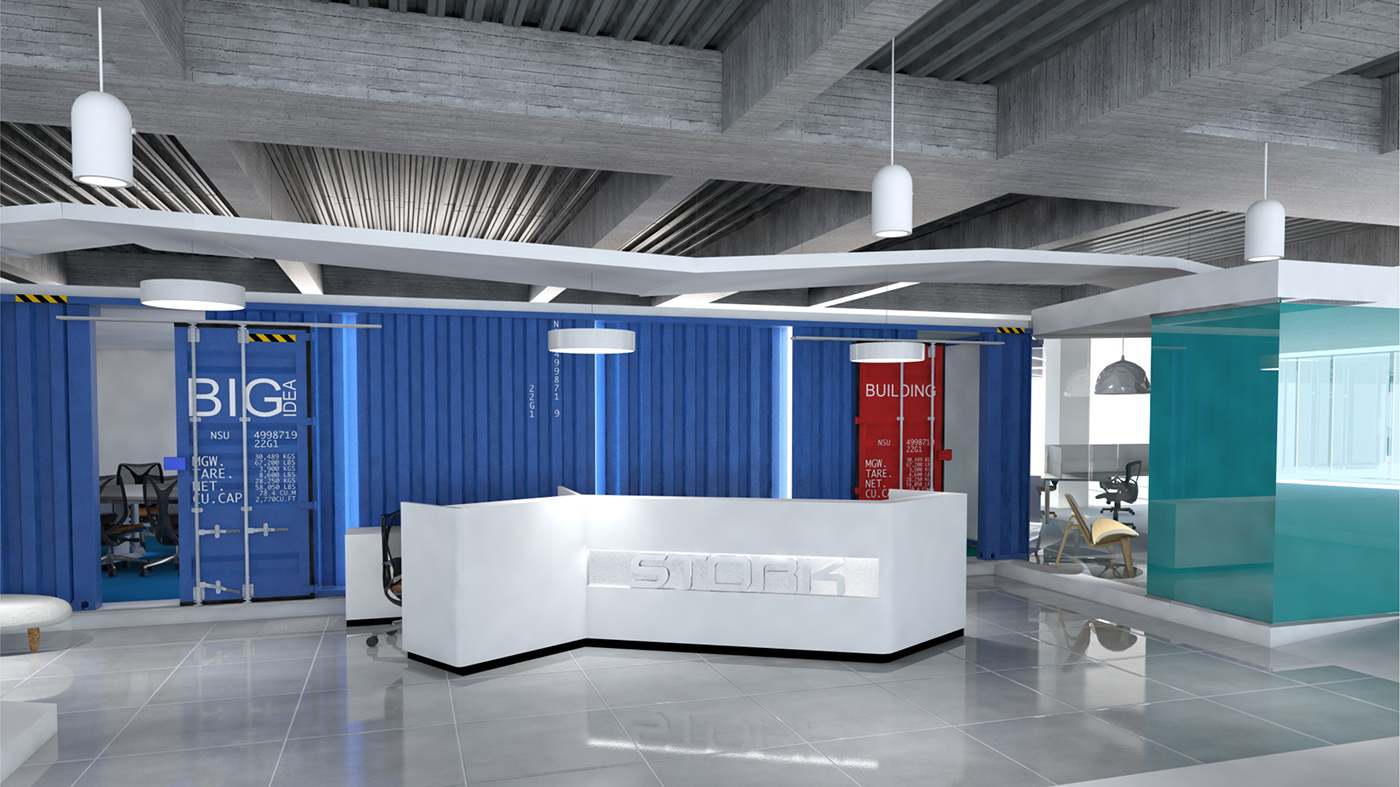 Mechanical openoffice proyect render vs reality on behance for Construccion arquitectura