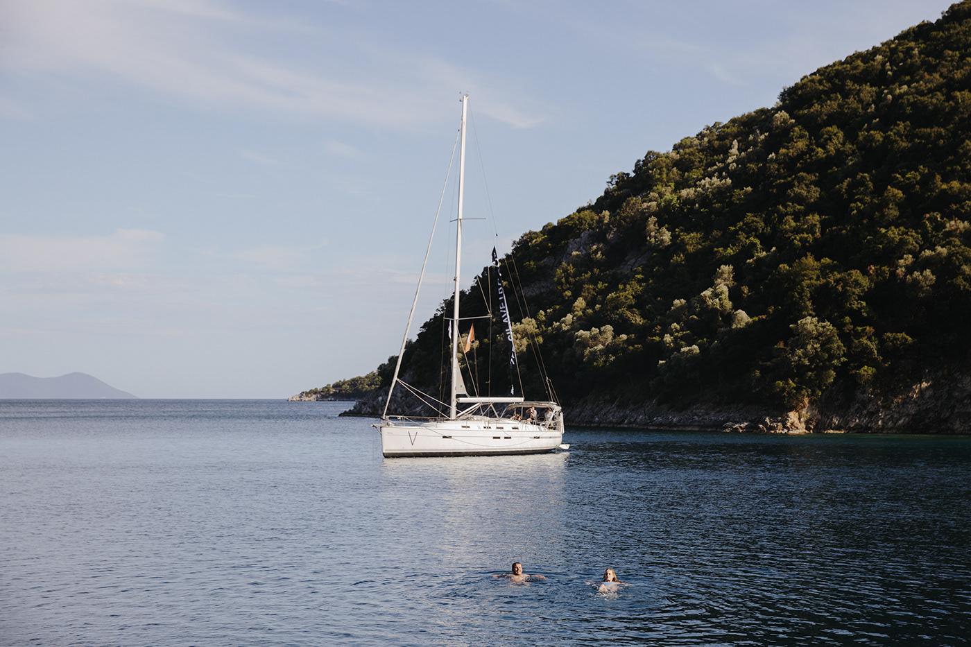 Greece Ocean reportage Sail sailboat sailing sailinglife Sailor sea Yachting
