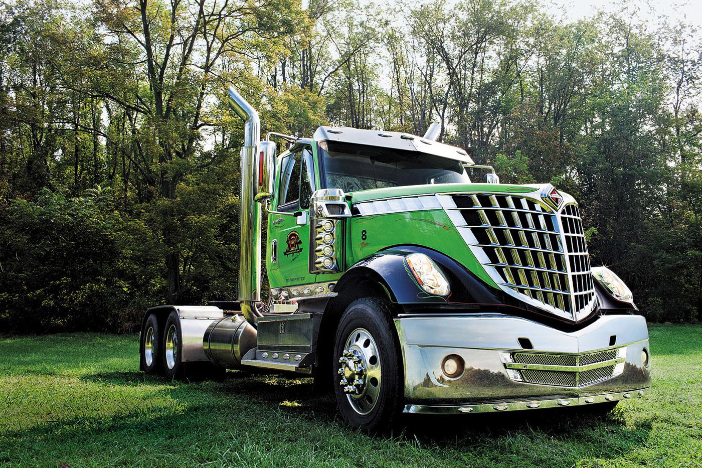 Charlotte Harley Davidson >> International Trucks 2012 on Behance