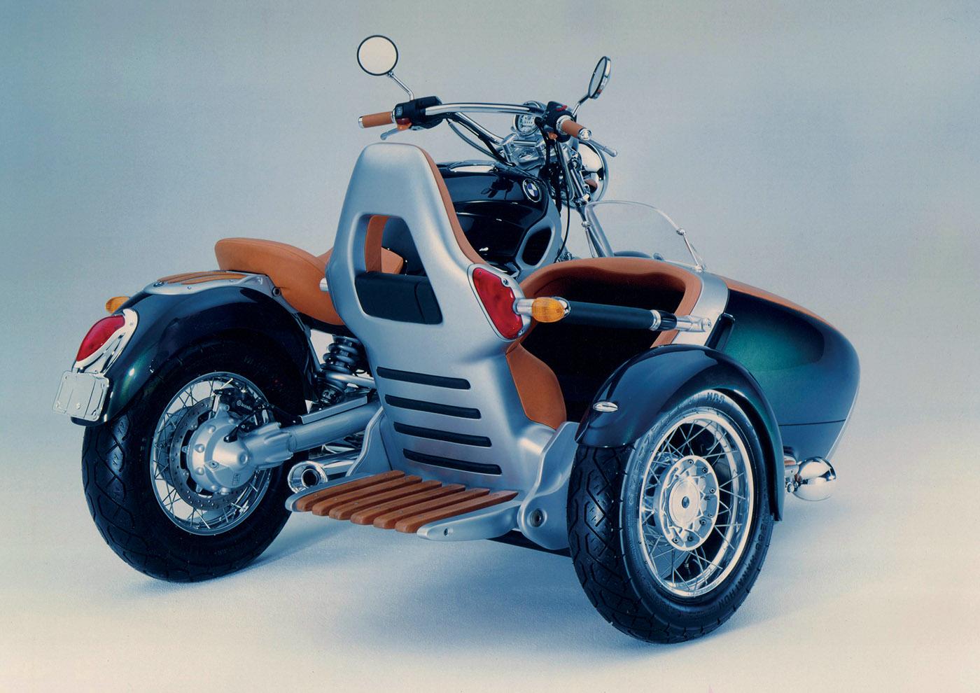 BMW R1200C Sidecar Concept on Behance