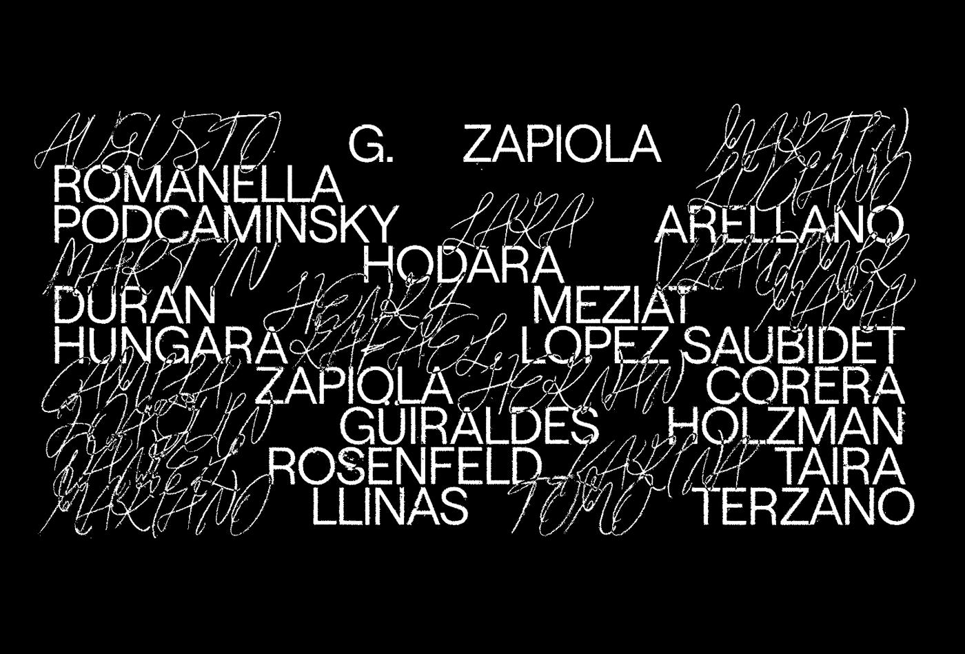 argentina art black identity logo mark poster animal Film   ILLUSTRATION