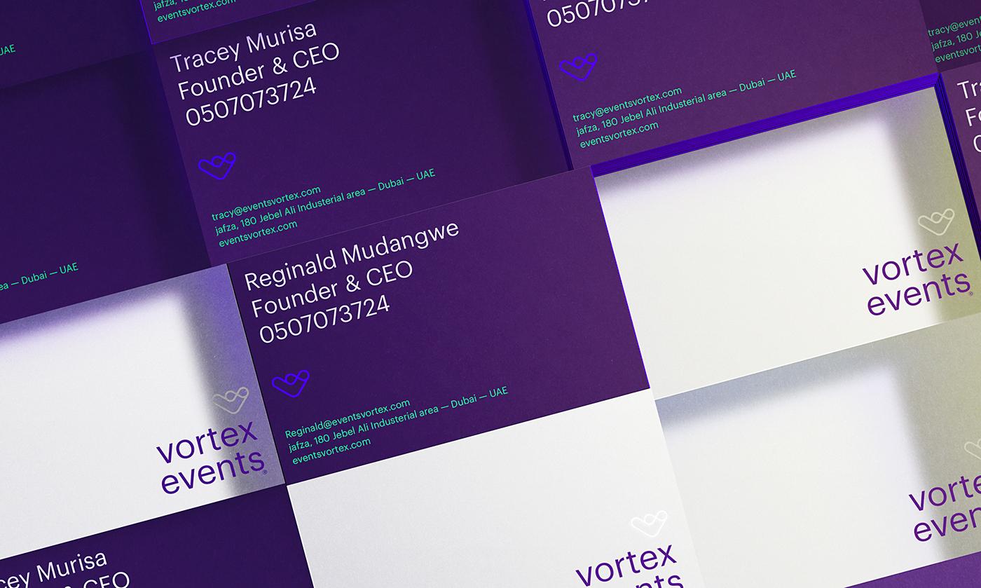 Events branding  editorial dubai brochure brand management blue vibrant Web