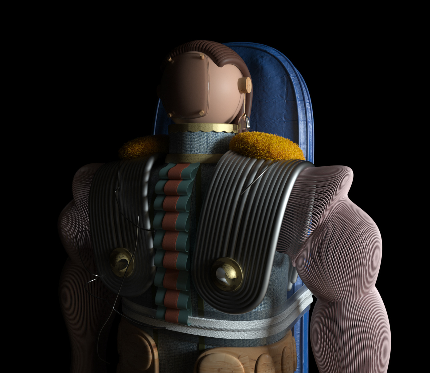 Image may contain: cartoon and helmet