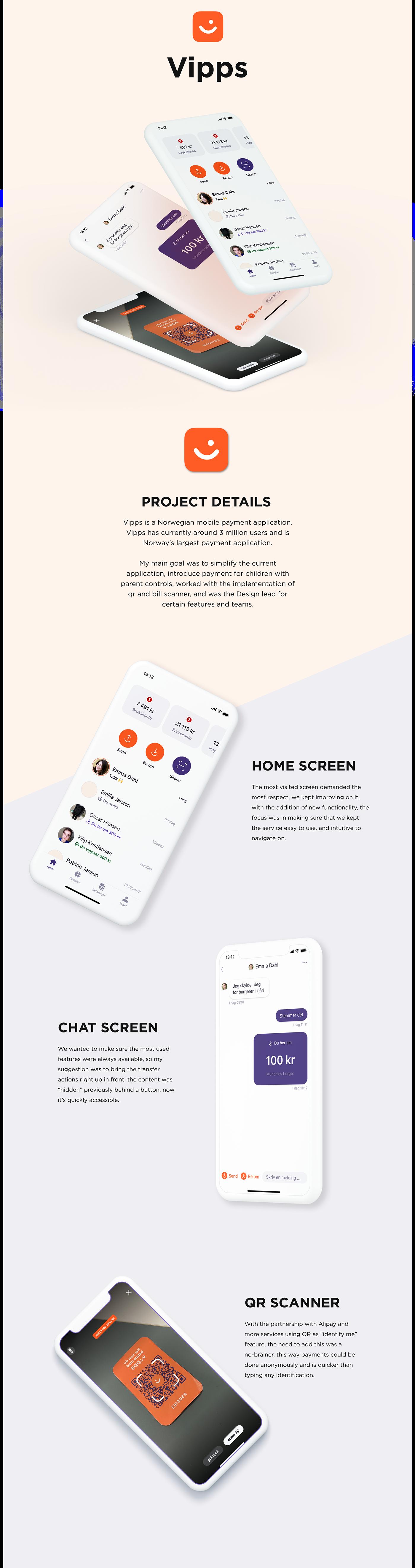 finance app norway Vipps revolut Bank payment economics UI ux