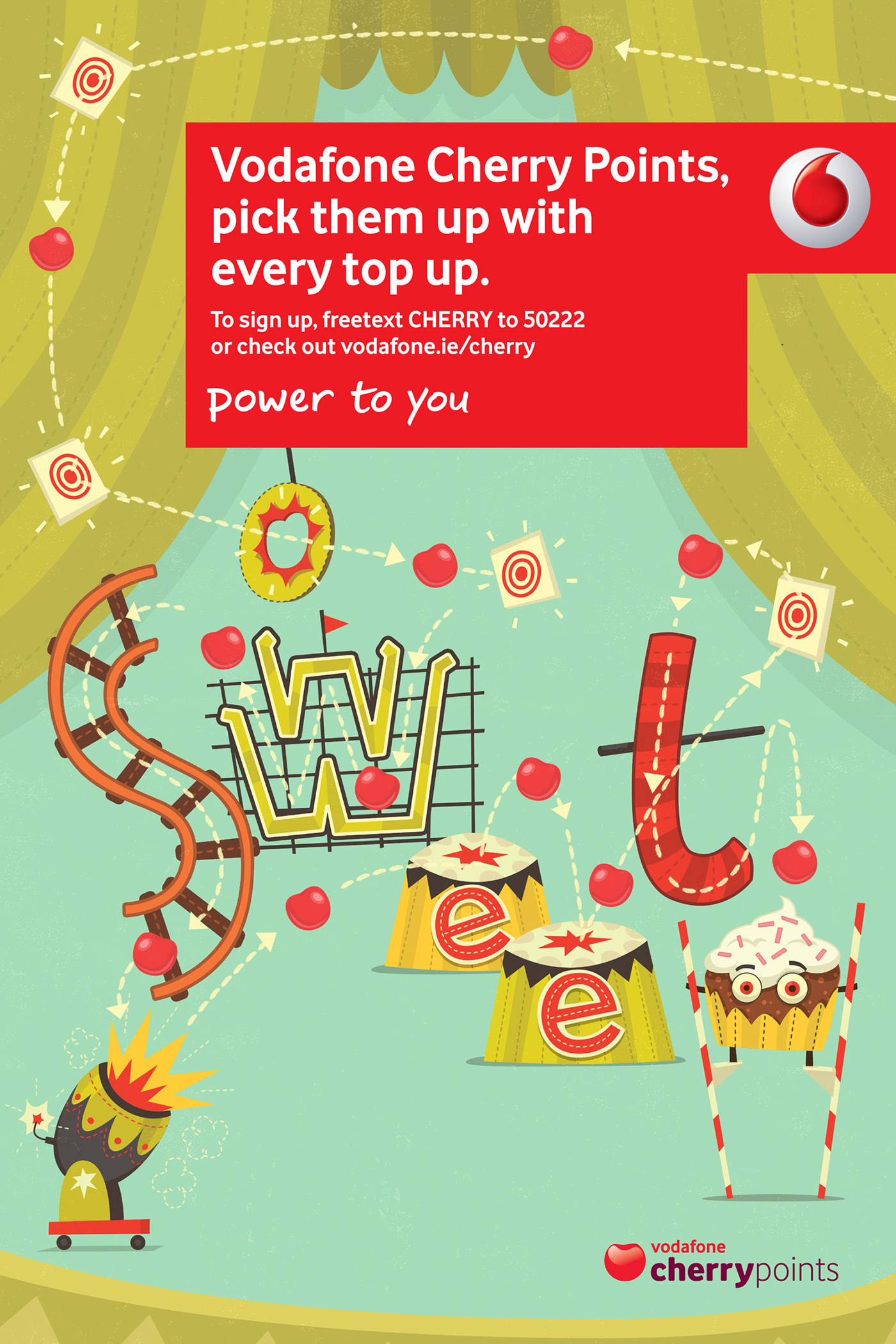 Vodafone top up freebies number
